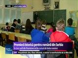 În cinci şcoli din Branicevo, copiii românilor din Serbia pot învăţa limba maternă. Aproape uitaţi de patria-mamă şi prigoniţi de cea adoptivă, românii din Serbia încearcă să-şi croiască singuri istoria şi destinul.