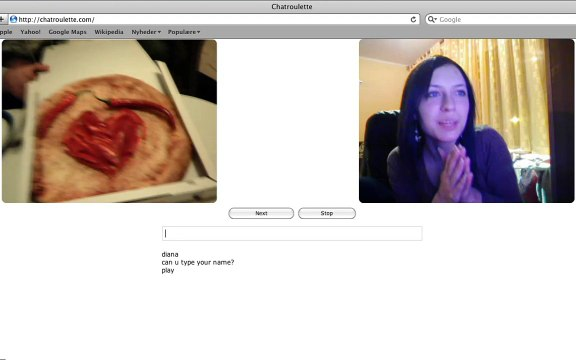 Chatroulette Love Song