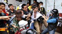 Police arrest dozens of pro-democracy protesters in Hong Kong