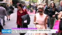 """Why Sarah Hyland Is """"Laughing"""" About Bullying, Body Image Issues"""