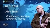 """Alain Soral : """"Poutine est, peut-être, l'avenir du monde"""" - IRIB, 01/12/2014"""