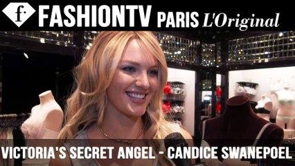 Victoria's Secret Fashion Show 2014-2015: Candice Swanepoel Exclusive Interview | FTV.com