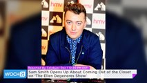 Sam Smith Opens Up About Coming Out of the Closet on 'The Ellen Degeneres Show'