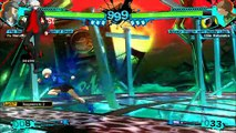 Persona 4 Arena Ultimax - Gameplay Golden Arena Mode