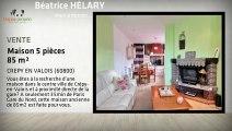Vente maison - CREPY EN VALOIS (60800) - 85m²