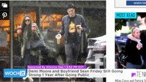 Demi Moore and Boyfriend Sean Friday Still Going Strong 1 Year After Going Public