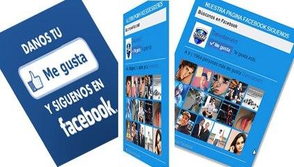 Like box me gusta de facebook con efecto de animación 3D con CSS3