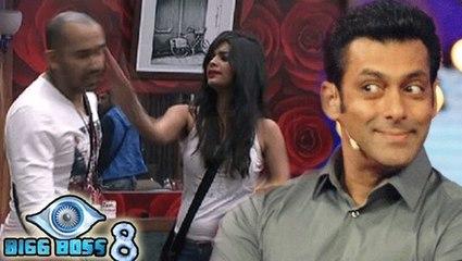 Salman Khan Approves Of Sonali To Slap Ali Quli | Bigg Boss 8