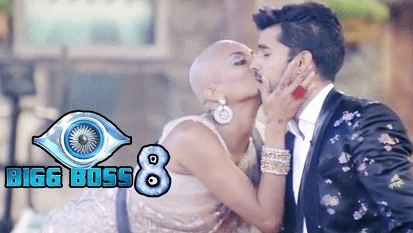 Bigg Boss 8 ! Did Gautam Gulati Kiss Diandra Soares?