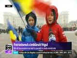 """Români fericiți, de 1 Decembrie - """"Ne bucurăm pentru ce se întâmplă în România şi sunt foarte încântat pentru viitorul nostru. Simţim cu România, suntem români şi suntem mândri să fim români"""""""