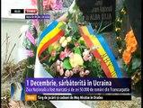 Ziua Naţională, sărbătorită şi de cei 50.000 de români din Ucraina. Se mândresc că sunt români şi poartă cu mândrie portul naţional. Deşi trăim departe de patria mamă, ne mândrim cu faptul că suntem români.