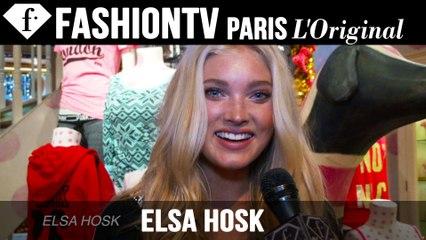 Victoria's Secret Fashion Show 2014-2015: Elsa Hosk Exclusive Interview | FTV.com