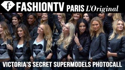 Victoria's Secret Fashion Show 2014-2015: Supermodels Photocall | FTV.com