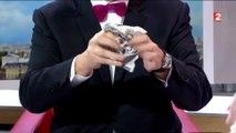L'étonnant tour de magie en direct dans le JT de 13h de France 2