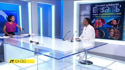 JT Réunion premiere  - Interview Amédée, président Coeur et Conscience