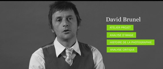 Photo - Entretien avec David Brunel - Prof d'histoire de l'art et analyse critique