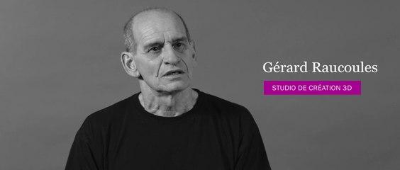 Animation 3D - Entretien avec Gérard Raucoules - Responsable de la section