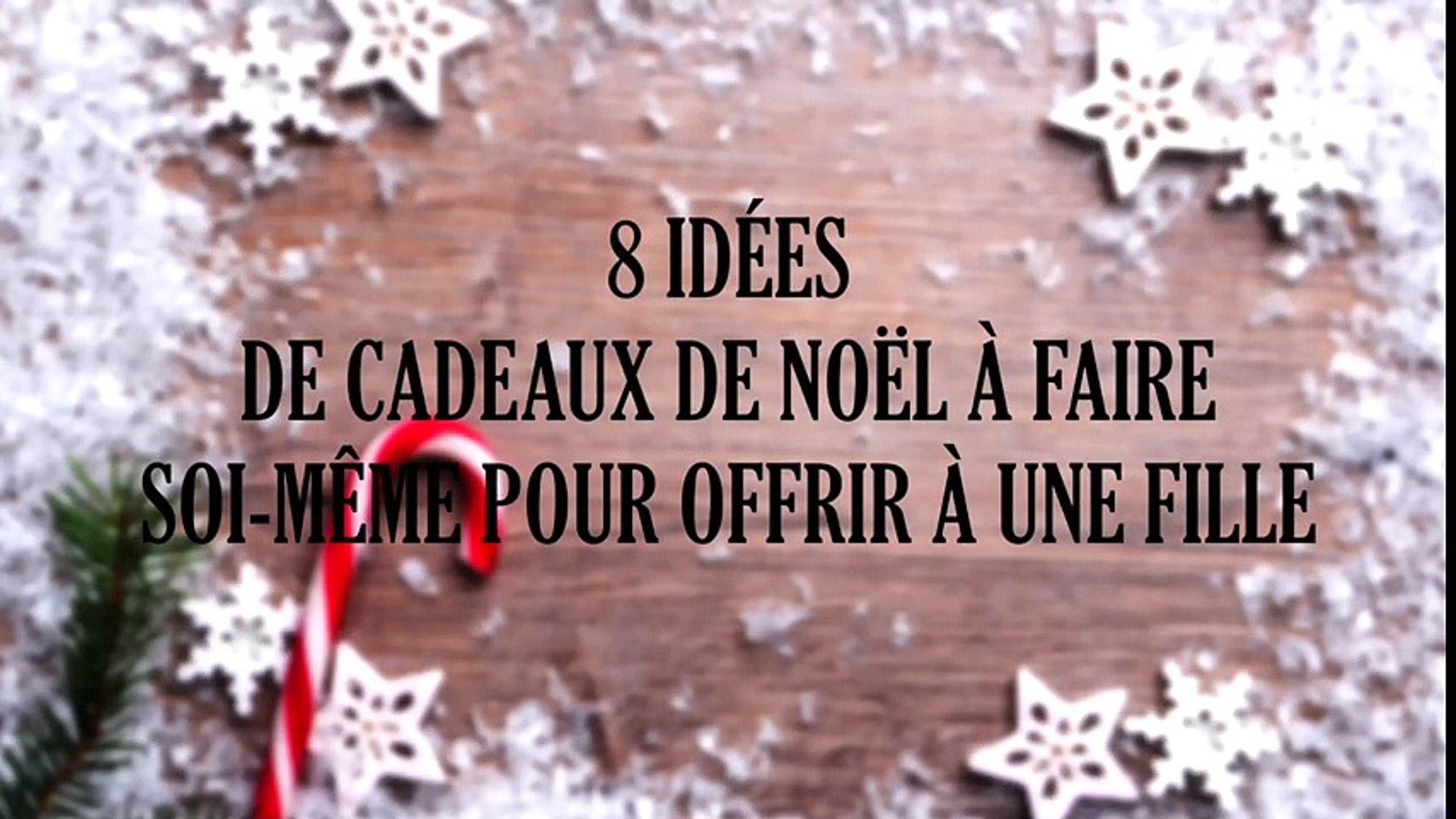 Cadeau Pour Noel A Fabriquer Soi Meme.8 Idées De Cadeaux De Noël à Faire Soi Même Pour Offrir à Une Fille