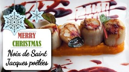 Noix de Saint-Jacques poêlées - Recette de Noël