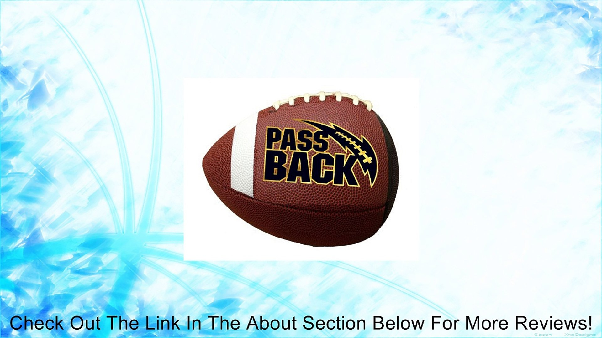 Passback Football - Junior Size (13 and Under) Composite Review