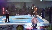 Hirooki Goto & Katsuyori Shibata vs. Minoru Suzuki & Takashi Iizuka
