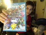 Super Smash Bros. For Wii U Unboxing / Super Smash Bros. For Wii U Opening