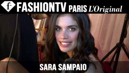 Victoria's Secret Fashion Show 2014-2015 BACKSTAGE: Sara Sampaio Exclusive Interview | FTV.com