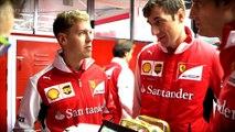 Pierwsza jazda próbna Vettela dla Ferrari