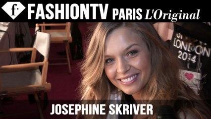 Victoria's Secret Fashion Show 2014-2015 BACKSTAGE: Josephine Skriver Exclusive Interview | FTV.com