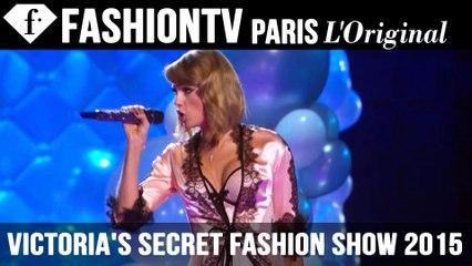 Victoria's Secret Fashion Show 2014-2015 ft Taylor Swift & Adriana Lima in London | FTV.com