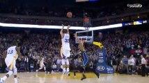 Stephen Curry's Last Second 3-Pointer, Derrick Rose's Shot Forces Double OT
