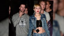 Miley Cyrus & Patrick Schwarzenegger Jet To Miami