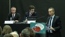 lnobpl/021214/ Présentation de la liaison Rennes-Nantes, par RFF : MM. Stéphane Leprince, Arnaud  Godart, et Benoît  Formstecher