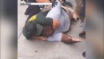 Un homme noir tué par la police à NY, étranglé par les officiers de la NYPD en pleine rue