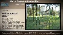 A vendre - Maison/villa - Cabries (13480) - 6 pièces - 208m²