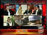 Kashif Abbasi and Javed Chaudhry Bashing Maryam Nawaz Tweet Regarding Torture on Blind Persons