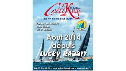 Celtikup 2014 à bord de LUCKY RABBIT