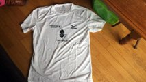 Tshirt challenge parc national massif des bauges mizuno
