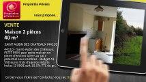 A vendre - maison - SAINT AUBIN DES CHATEAUX (44110) - 2 pièces - 40m²