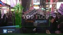 """Top/Flop : une nouvelle """"affaire Ferguson"""" enflamme les Etats-Unis, premier vol de la capsule Orion"""