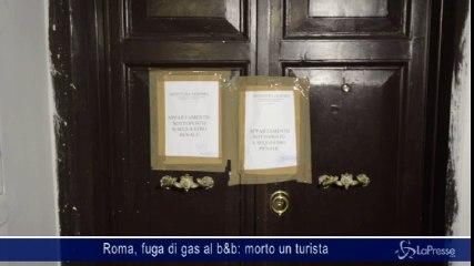 Roma, fuga di gas al b&b: morto un turista