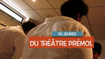 Restitution du travail de la MJC Prémol avec le Centre chorégraphique national de Grenoble 2014