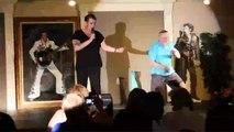 Franz Goovaerts and Henry perform Sweet Caroline Elvis Week 2013 video