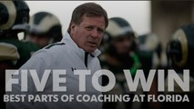 Five to Win: The best things about coaching at Florida