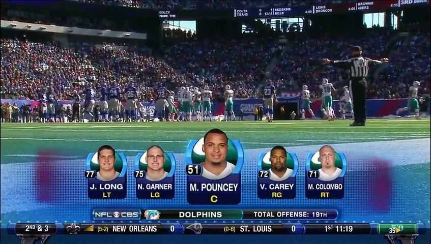 NFL 2011-12 W08 - New York Giants vs Miami Dolphins 2011-10-30