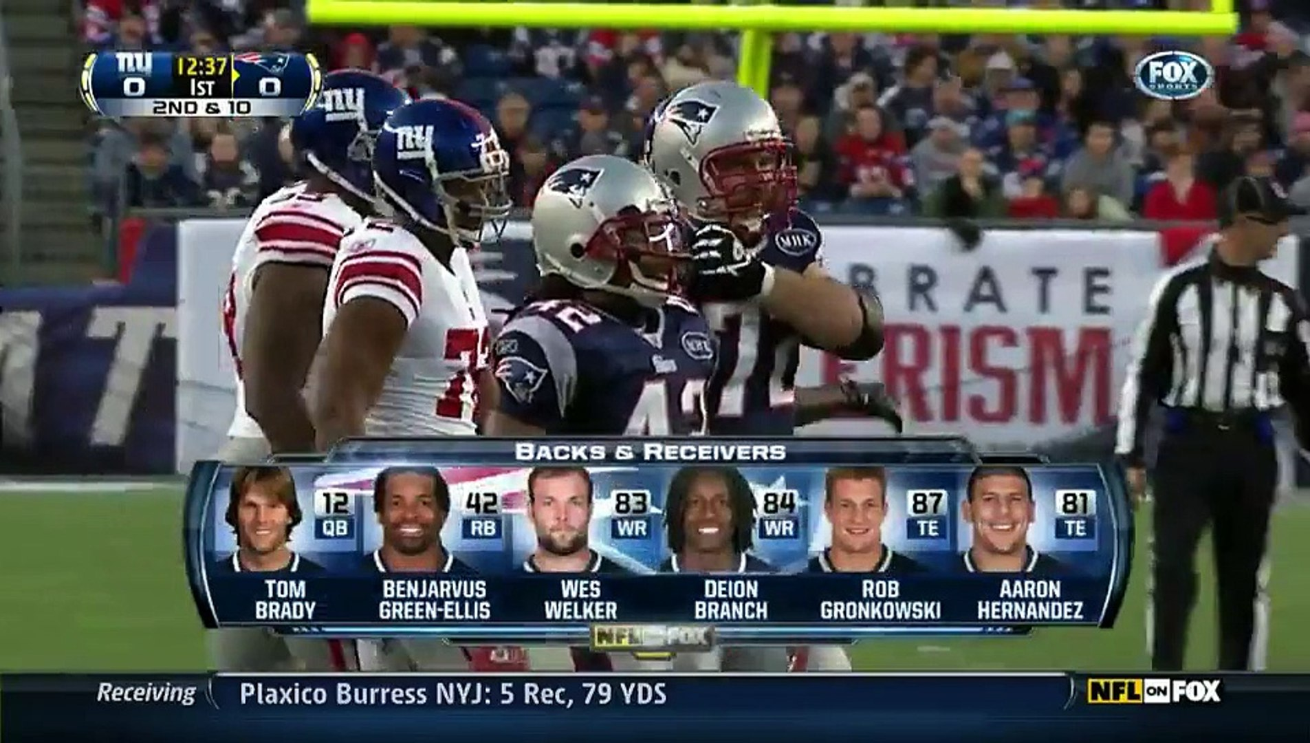 NFL 2011-12 W09 - New England Patriots vs New York Giants 2011-11-06
