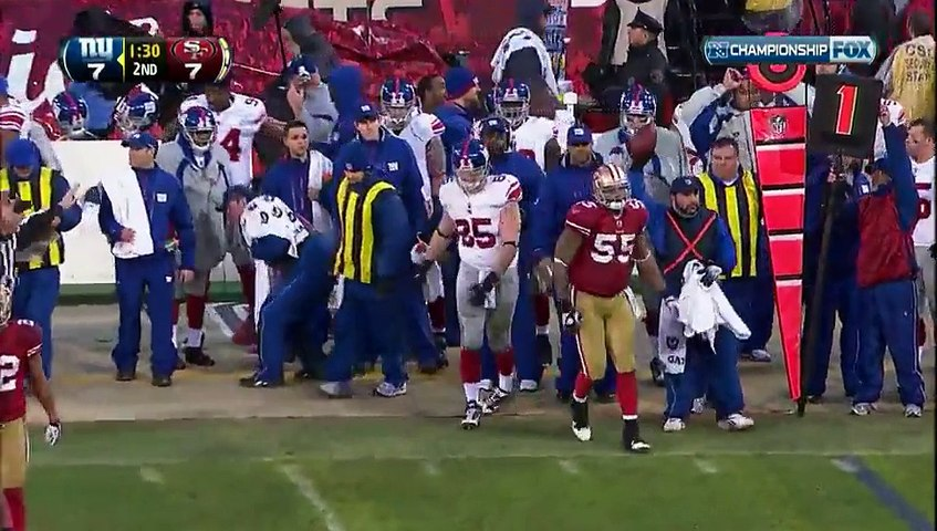 NFL 2011-12 W20 NFC Championship Game - San Francisco 49ers vs New York Giants 2002-01-22