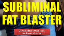 Burn Belly Fat - Lose Weight With Subliminal Messages - Fat Burning Furnace