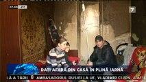 Daţi afară din casă în plină iarnă! O familie cu doi copii minori din Bălţi urmează să fie evacuată astăzi din apartamentul în care locuieşte.