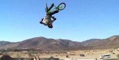 BMX Double Backflip 360 - First Nitro Circus Aussie Roll!
